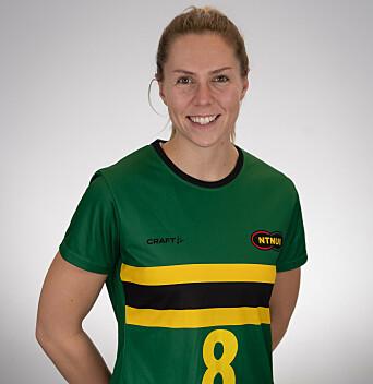 GIRA: Maja Lind Sande gleder seg allerede til neste kamp.
