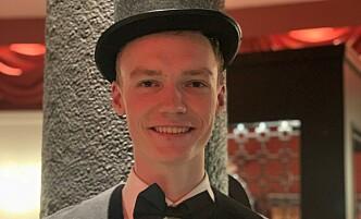 MUSIKK: Herman liker 1920-tallets musikk, og synes blant annet at charleston er ganske kult.