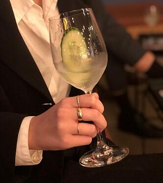 KLASSIKER: Gin and Tonic ble oppfunnet i forbudstiden, og var ikke overraskende første drink på drinkmiksekurset.